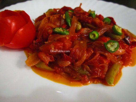 Kerala Style Tomato RoastRecipe - Nutritious Dish