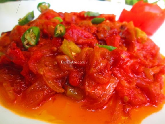 Kerala Style Tomato RoastRecipe - Quick Dish
