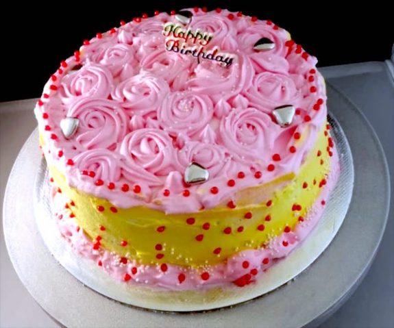 Easy Vanilla Cake Recipe - Quick & Simple Cake Recipe
