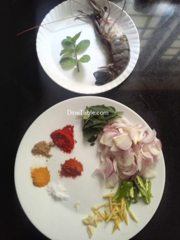 Prawn Roast Recipe - Non Veg Roast