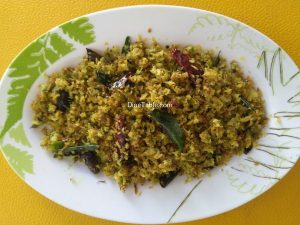 Muringa Poovu Thoran Recipe