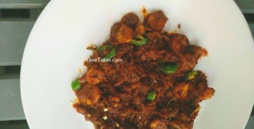 Prawn Ghee Roast Recipe - Tasty Roast