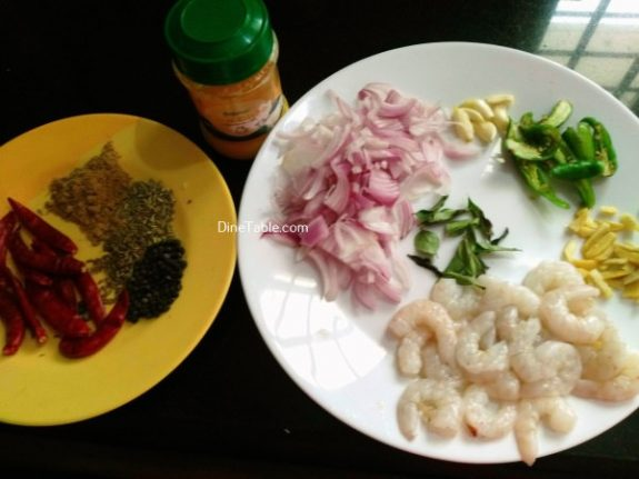 Prawns Ghee Roast Recipe