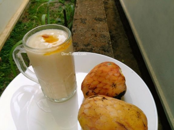 Aatha Chakka MilkShake Recipe - Easy Dish