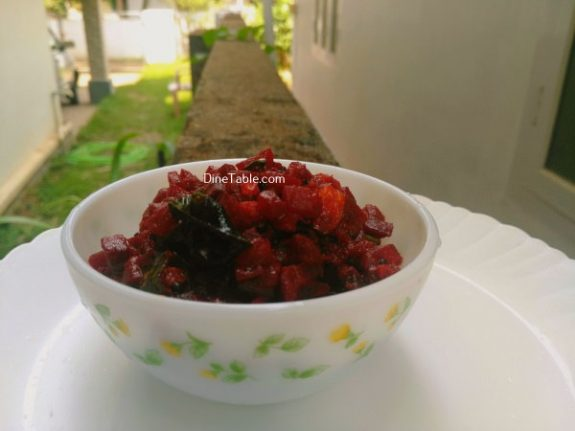 Beetroot Achaar Recipe - Easy pickle
