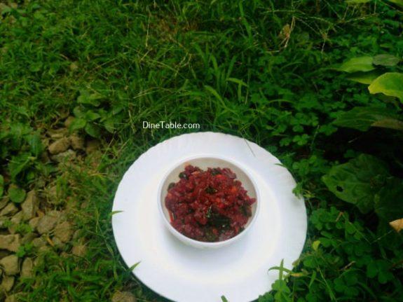 Beetroot Achaar Recipe - Indian Pickle