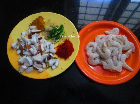 Chemmeen Thenga Kothu Masala Recipe - Homemade Dish