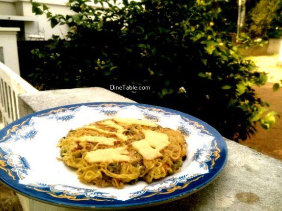 Maggi Noodles Cake Recipe - Quick Dish