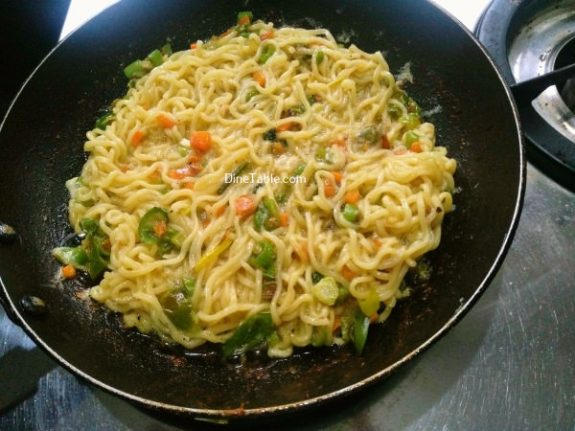 Maggi Noodles Cake Recipe - Simple Dish