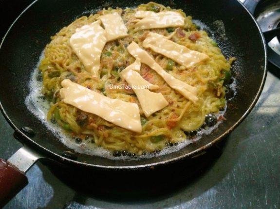 Maggi Noodles Cake Recipe - Yummy Dish