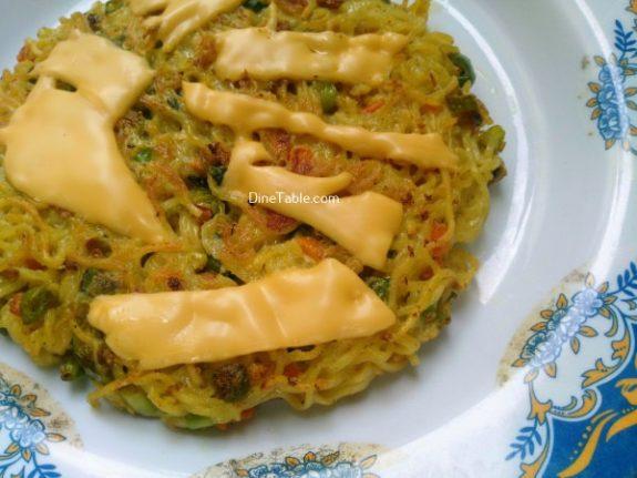 Maggi Noodles Cake Recipe - Tasty Dish