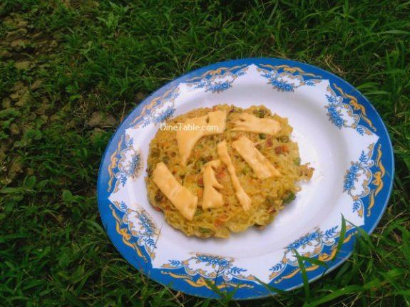 Maggi Noodles Cake Recipe - Easy Dish