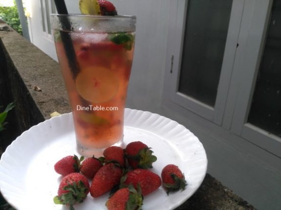 Strawberry Mojito Recipe - Homemade Drink