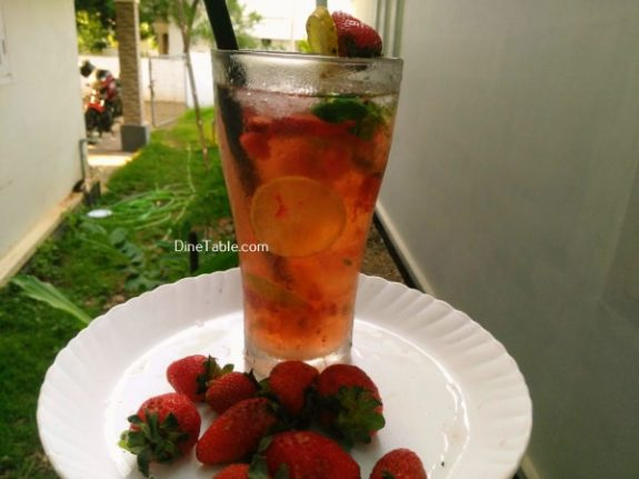 Strawberry Mojito Recipe - Special Drink