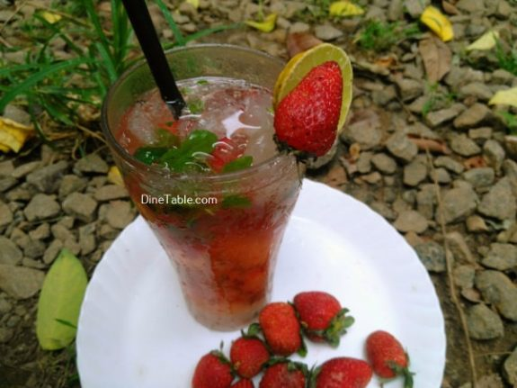 Strawberry Mojito Recipe - Quick Drink