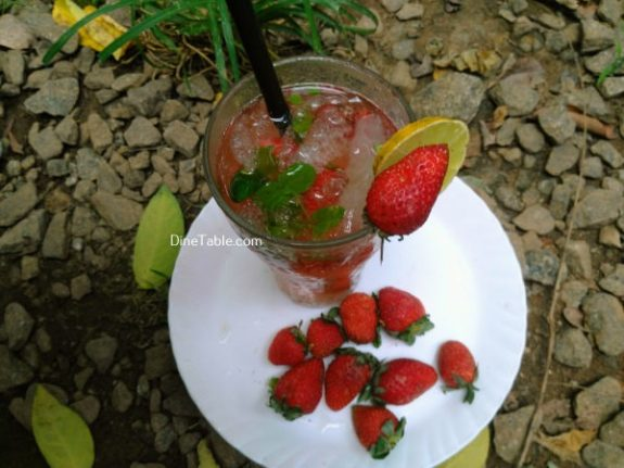 Strawberry Mojito Recipe - Simple Drink